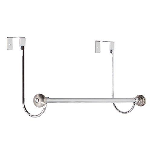 InterDesign 54640EU Astoria Handtuchstange zum Hängen über die Duschtür, Zweifarbig (Bettwäsche, Waschlappen)