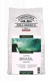 Caffe Corsini Brasil Santos, ganze Bohnen, 250 g