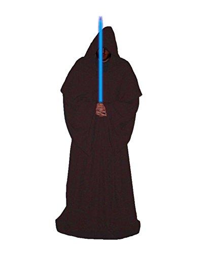 Deluxe Erwachsene Jedi Luke braun Master Bademäntel Star Wars Fancy Kleid Gr. L-XL, braun