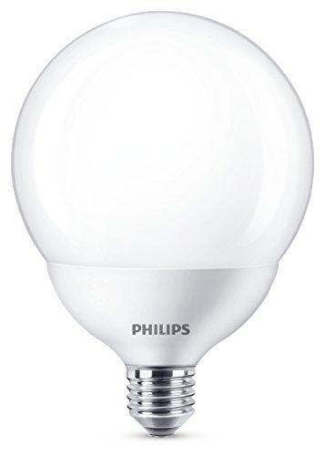 Philips LED globo 18W (120W) G120attacco Edison E27, lampadina, luce bianca calda, E27, 18W