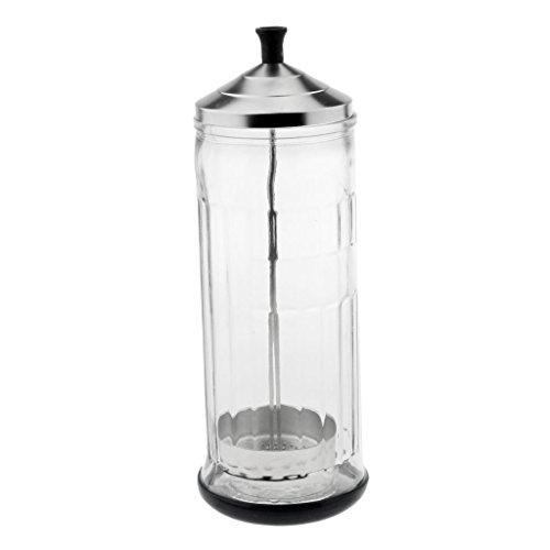 Sterilisator Jar (Tubayia Rutschfest Desinfektionsglas Sanitizing Glas Jar für Salon Maniküre Werkzeug)