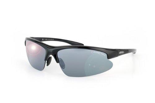 Alpina Radsportbrille Dribs, schwarz, A8371-331