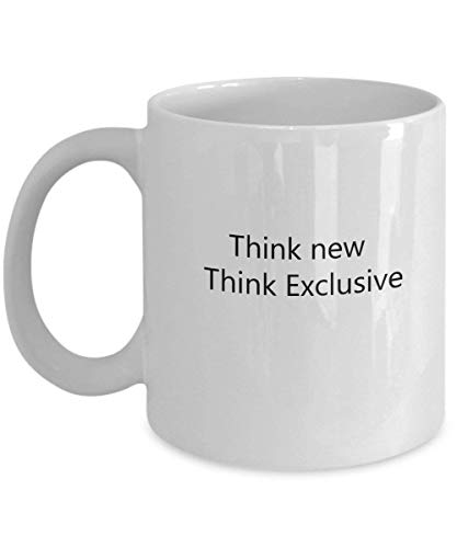 Think New, Think Exclusive 11 oz Coffee Mug - A Cabinet Maker Ceramic Cup Gift for Cabinet Makers - Iced Beste Maker Tea