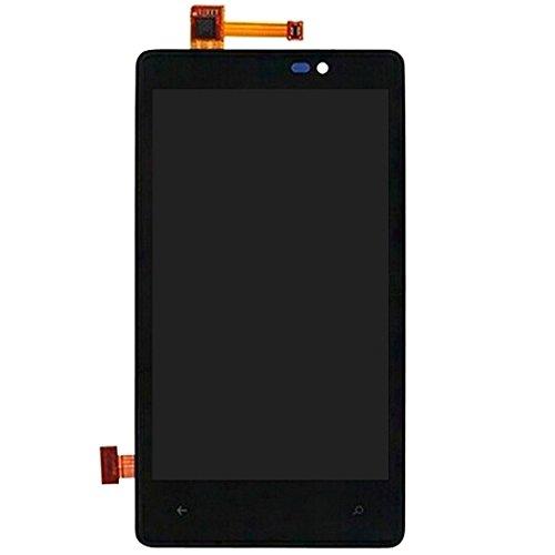 Replace LCD Screen Ersatz-LCD-Bildschirm + Rahmen + Touchpad + Frontrahmen-LCD-Display + Touchpanel mit Rahmen for Nokia Lumia 820 for Nokia (Lumia 820 Lcd-ersatz)