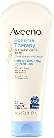 Aveeno Eczema Therapy Moisturizing Cream for Sensitive Skin