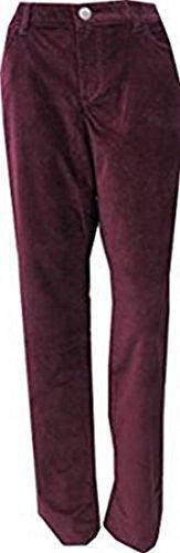 pantalon pantalon velours femmes de Eddie Bauer Rouge Bordeaux