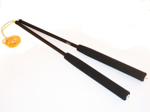Diabolo Handstäbe (schwarz) Carbon 350 mm
