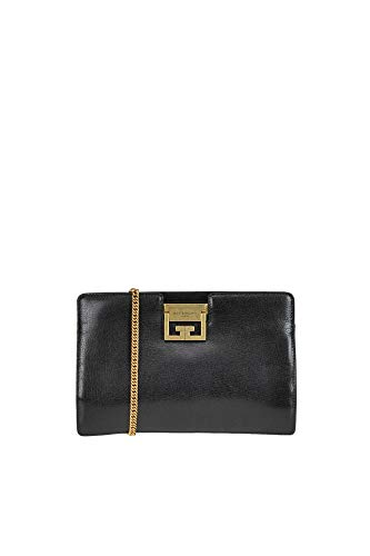 Givenchy GV Leather Clutch Woman Black unica int.