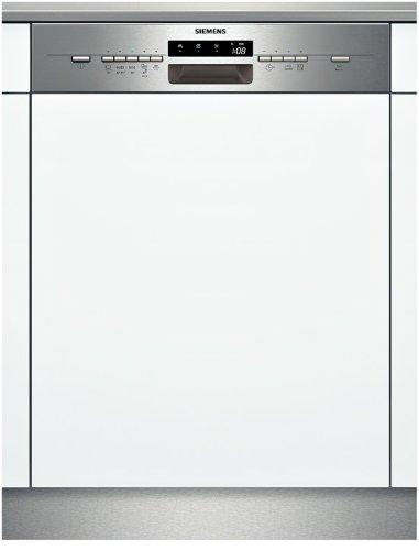 Siemens SX55M540EU iQ500 Teilintegrierbarer Geschirrspüler / Einbau / A++ A / 13 Maßgedecke / 60 cm / Edelstahl / varioSpeed / AquaStop