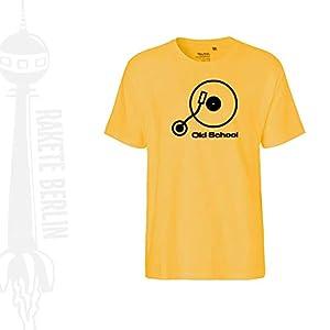 FairTrade Herren T-Shirt 'Old School' Bio-Baumwolle