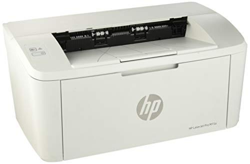HP LaserJet Pro M15a Stampante, 18 ppm, Bianco