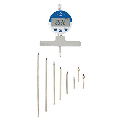 Moore und Wright 172Serie 0–550mm (0–55,9cm) Digital Tiefenmesser mit Zoll auf mm