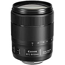 Canon 1276C005 EF-S 18-135 mm f/3.5-5.6 IS USM Lens - black (Renewed)