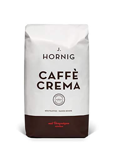 J. Hornig Kaffee Ganze Bohne Kräftig und Vollmundig, Caffè Crema Classico (500g) (Bohnen Kaffee Röster)
