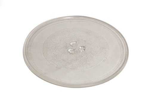 245mm/9.5 Glass Turntable Plate For Cookworks Microwave Ovens by Cookworks