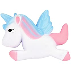 Kawaii Unicorn Squishy Slow Rising Cartoon Doll Cream Perfumado Descompresión Juguetes
