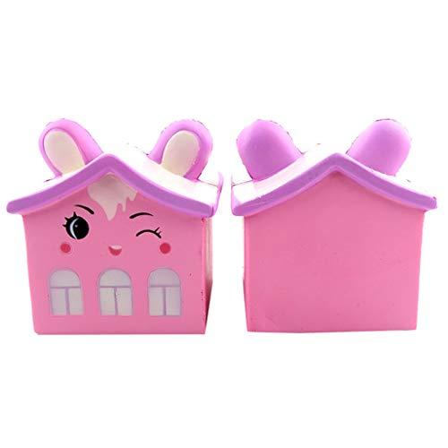 TianranRT Squishy Antistress Spielzeug/New Bear House Cartoon Langsam Rebound Drücken Sie Die...