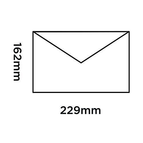 Blake Purely Everyday C5 162 x 229 mm 100 gsm Banker Invitation Gummed Envelopes (ENV3661) Red - Pack of 500