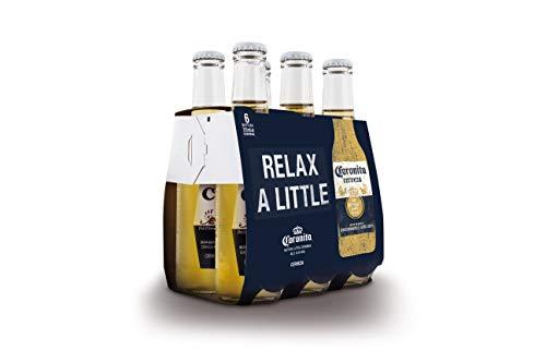 Coronita Cerveza - Paquete de 6 x 210 ml - Total: 1260 ml