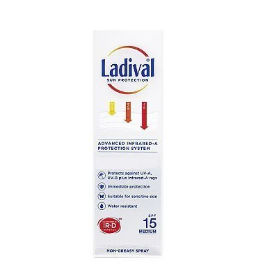 Ladival Protection Solaire Spray SPF 15 150ml
