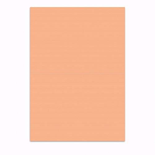 Farbiges Papier/Schreibpapier - Apricot - DIN A4 / 10 Blatt / 100 g-Papier