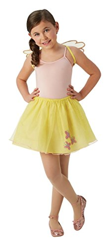 Kinder Kostüm Fluttershy - Rubie's My Little Pony Kinder Kostüm Fluttershy Karneval 5 bis 6 Jahre