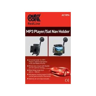 AUTOCARE MP3 PLAYER/SAT NAV/MOBILE HOLDER UNIVERSAL FIT FOR ALL VEHICLES