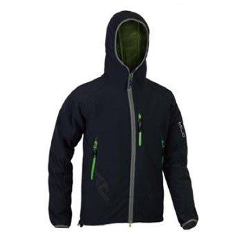 Unbekannt Herren Kools Jacke schwarz / grün
