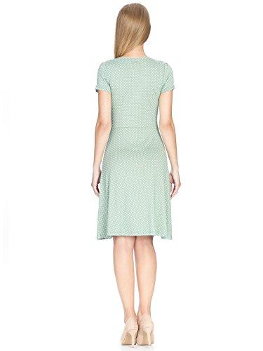 Vive Maria Damen Kleid Summer Green Dress Grün (Green Allover)