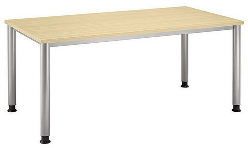Unbekannt Schreibtisch Hilo 160 x 80 Ahorn/Alu