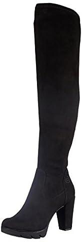 Bugatti Damen V72346 Kurzschaft Stiefel, Schwarz (Schwarz 100), 39 EU