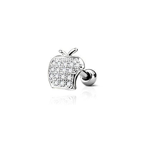 Pierced Owl  -    Edelstahl Zirkonia