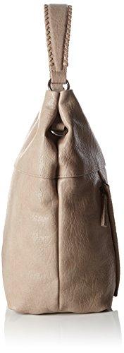 s.OliverHOBO BAG - Borsa con Maniglia Donna Beige (feather 8251)