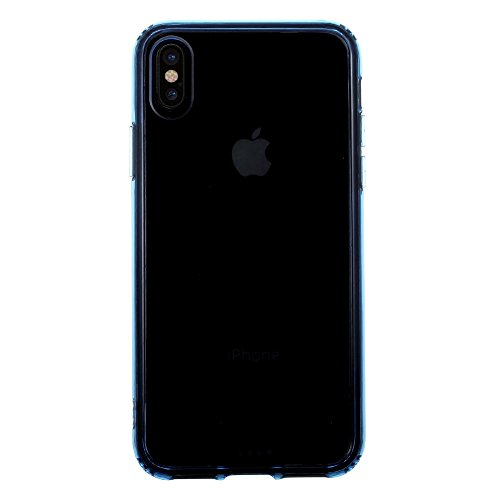 iProtect iPhone X Hybrid Design Case TPU + Acryl Schutzhülle in Pink TPU+Acryl Schutzhülle Blau
