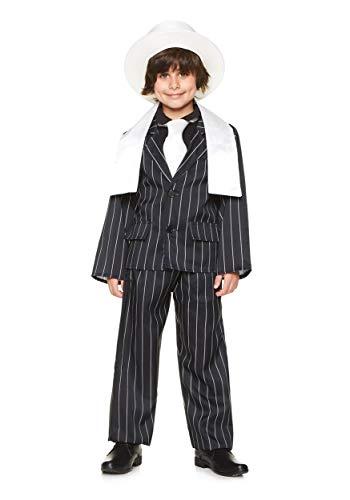 Bugsy Malone Kostüm Kind - Gangster Jungen 20s Mafia Bugsy Malone