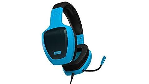 'Ozone Rage Z50Binaural filaire Bleu Noir Casque avec Microphone–Écouteurs avec microphone (avec fil, 3.5mm (1/8), PC/jeux, Circumaural, fermé, 20–20000Hz)