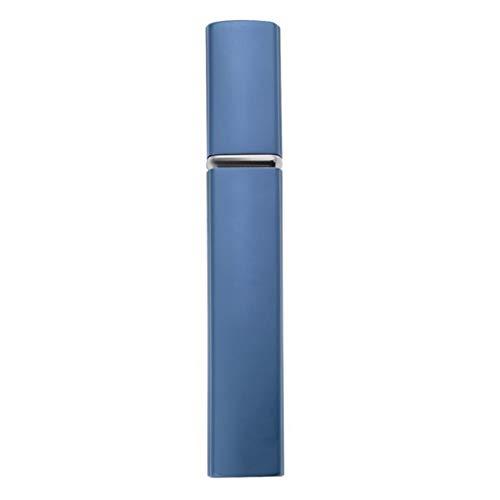 12ml mini bottiglia di atomizzatore riutilizzabile bottiglia di profumo di viaggio bottiglia di profumo bottiglia di profumo bottiglia di profumo anodizzato quadrato (color : blu)