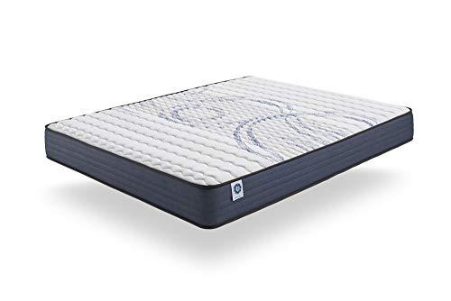 naturalex Colchón PERFECTSLEEP - 100% Nucleo HR Blue Latex - Soporte tecnologia Aquapur Transpirable - (135 x 190 cm, 16)