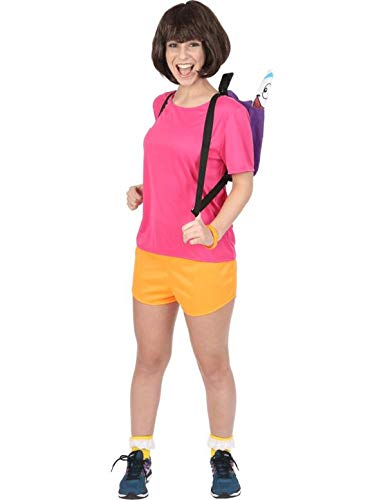 Costume per adulti femminile da esploratrice ispanica large