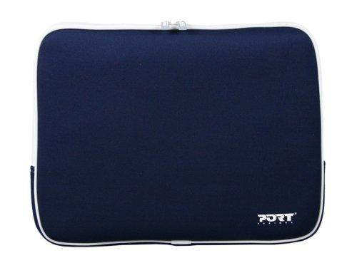 Miami Notebook Skin (Port Designs Miami Skin Tasche für Laptop 13,3 Zoll), Marineblau)