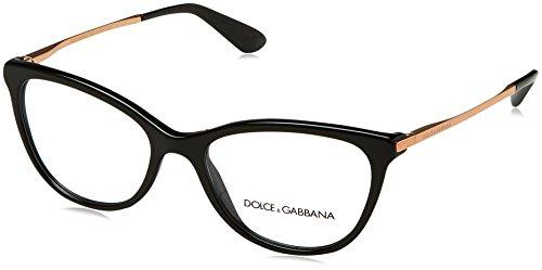 ddcc35e3c8 Dolce & Gabbana 0Dg3258, Monturas de Gafas para Mujer, Black, ...
