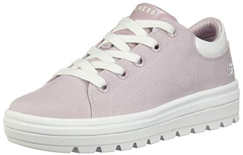 65f286c56577 Skechers Street Cleat-Bring It Back Lavender para Mujer Plateau