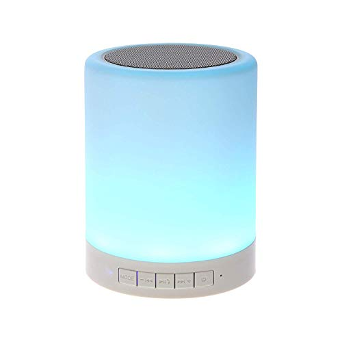 Synth LED Touch Lamp Different Lighting Modes Wireless Bluetooth Speaker with TWS for Party Festival Camping