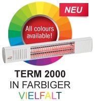 BURDA URCAC200V9010, Heizstrahler IP67 2,0 kW weiß low glare - 4