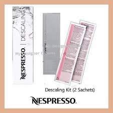 Nespresso Entkalker-Set für Essenza, Le Cube, Lattissima, Citiz & Pixie Maschinen und alle Modelle