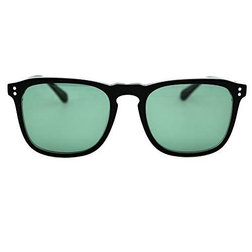 FURUDONGHAI Damen Modische Sonnenbrille UV400 Pretection Polarized Tripping CR39 HD Objektiv Panel Rahmen Mint Green Unisex besonders geeignet für sommerreisen oder Outdoor s (Farbe : Minzgrün)