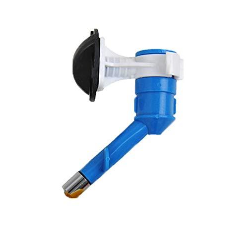 Carry stone Automatische Wasserversorgung Wasserdüse Wasser Leckschutz Hund Katze Haustier Wasserflasche Prävention bequem leichte Tierwaren 1 Stück (blau)
