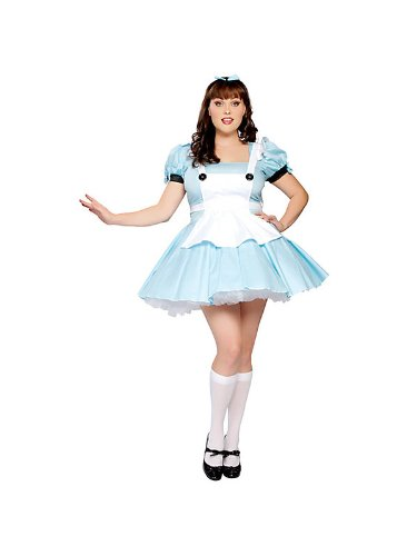 Sassy Alice Fancy dress costume ()
