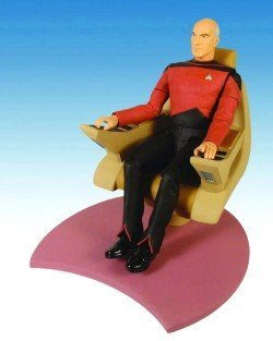 Star Trek TNG Captain Picard in Captain´s Chair Actionfigur