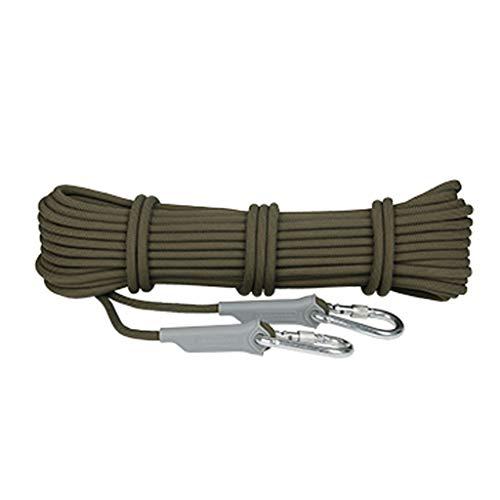 LYM-Rope Corde d'escalade, Cordon De Sécurité Anti-échappement d'urgence pour Le Sauvetage en Montagne Résistant À l'usure d'un Diamètre De 9.5mm